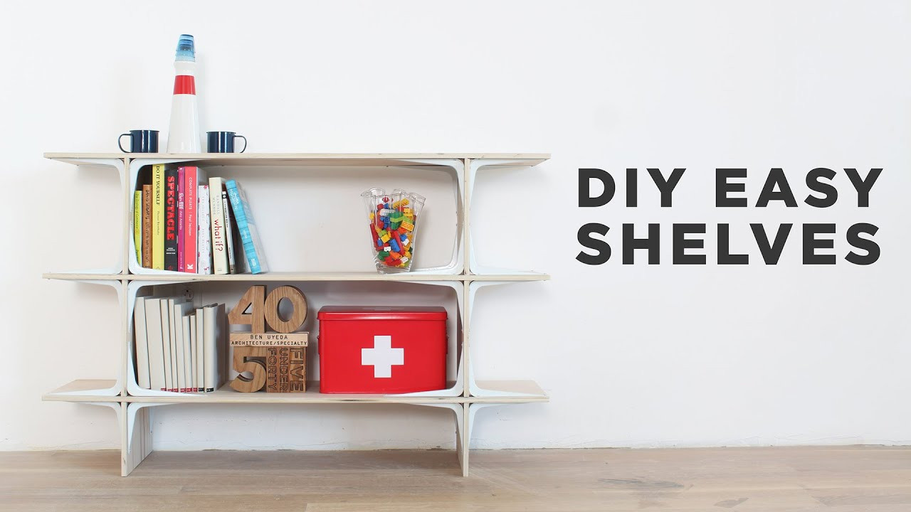 Best ideas about DIY Shelf Organizer . Save or Pin DIY Easy Shelves Now.