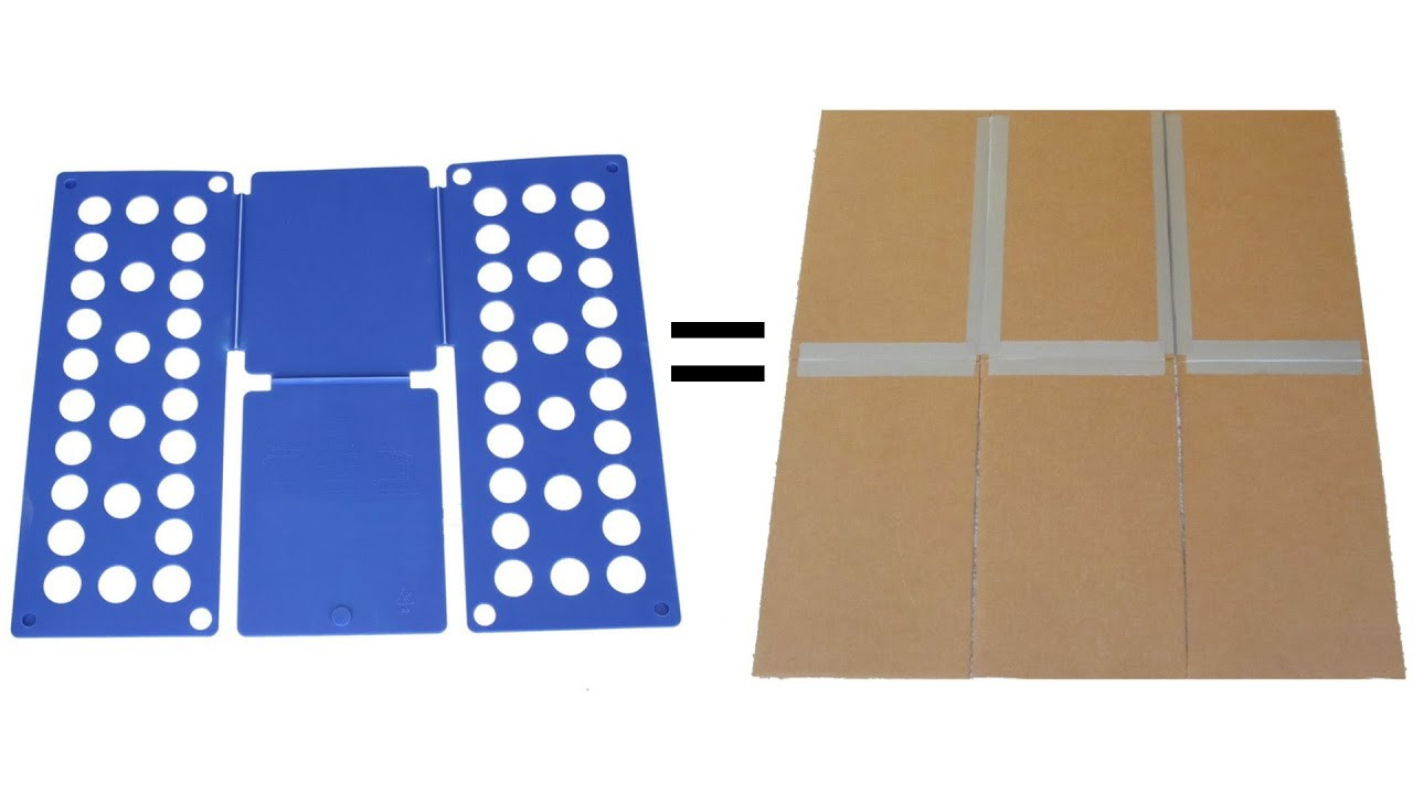 Best ideas about DIY Shirt Folder . Save or Pin Shirt Folding Board Made from Cardboard and Duct Tape Now.
