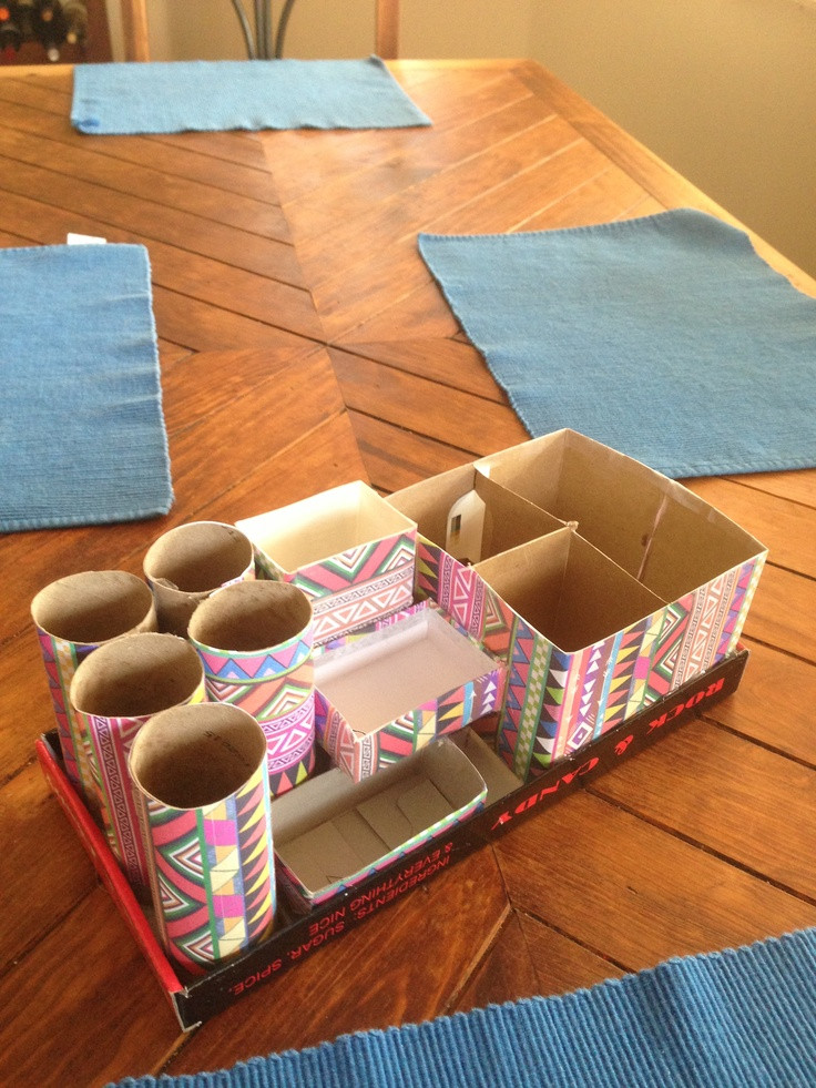 Best ideas about DIY Shoe Box Desk Organizer . Save or Pin 161 best fice Organization images on Pinterest Now.