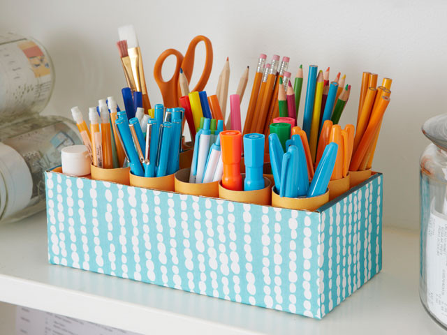 Best ideas about DIY Shoe Box Desk Organizer . Save or Pin 15 Interesting and Useful DIY Desk Organizers Now.