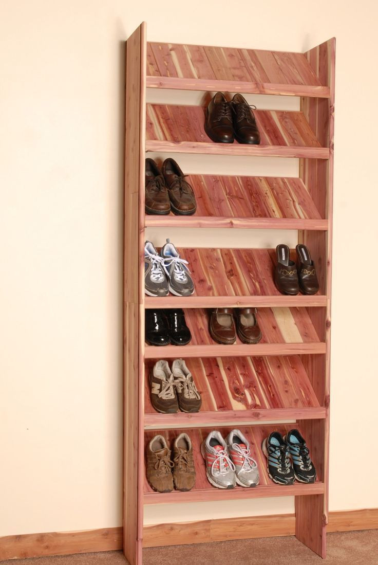 Best ideas about DIY Shoe Organizer For Closet . Save or Pin Best 25 Diy shoe rack ideas on Pinterest Now.