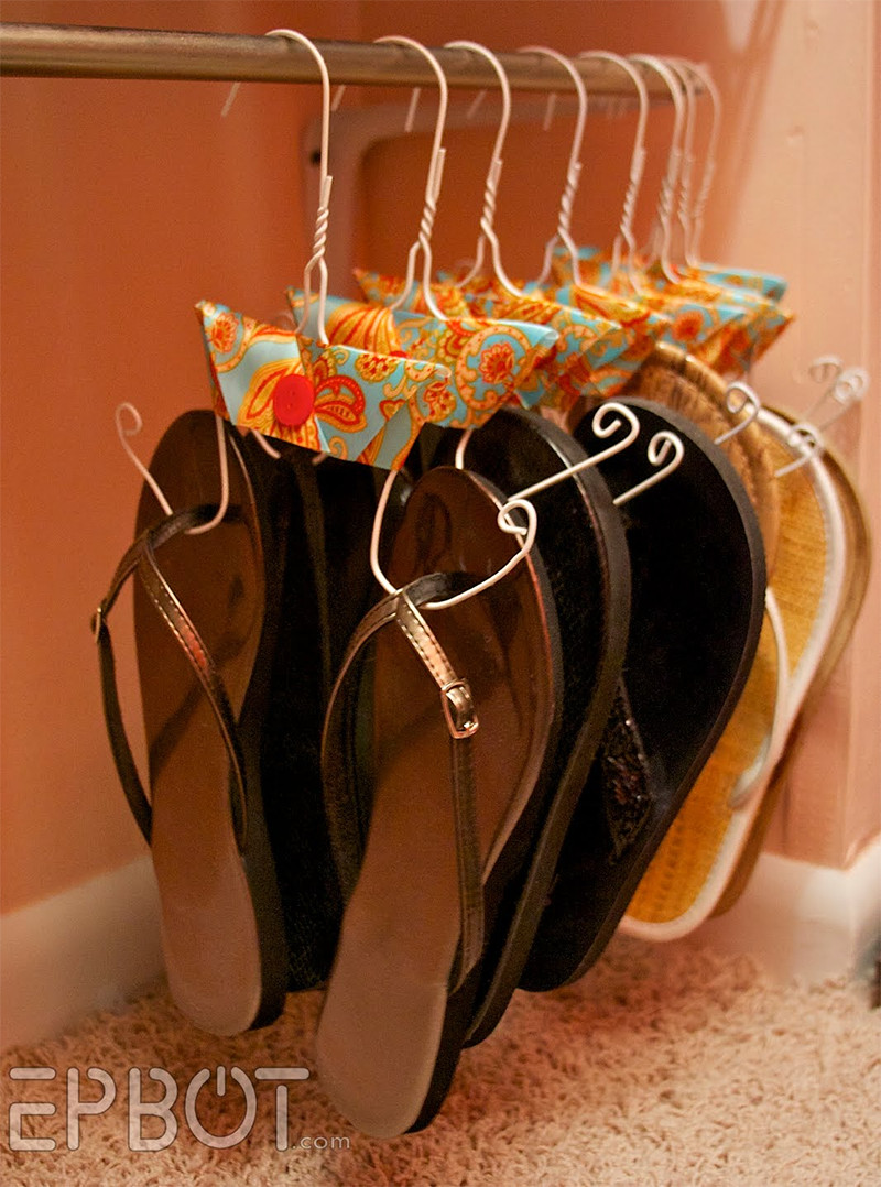 Best ideas about DIY Shoe Organizer For Closet . Save or Pin 8 Useful Closet Hacks to Tidy Up Your Wardrobe on the Cheap Now.