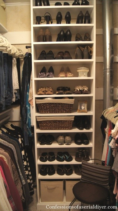 Best ideas about DIY Shoe Organizer For Closet . Save or Pin Master Closet Makeover Part 1 Now.