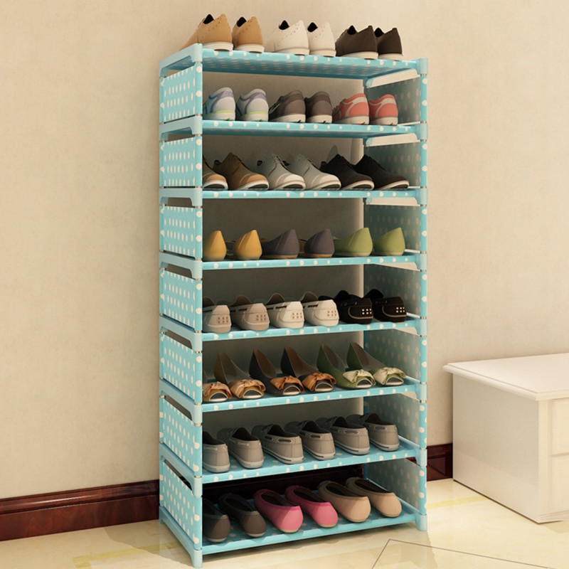 Best ideas about DIY Shoe Organizer For Closet . Save or Pin 7 Layers Non woven Fabric Shoe Rack Shelf Storage Closet Now.
