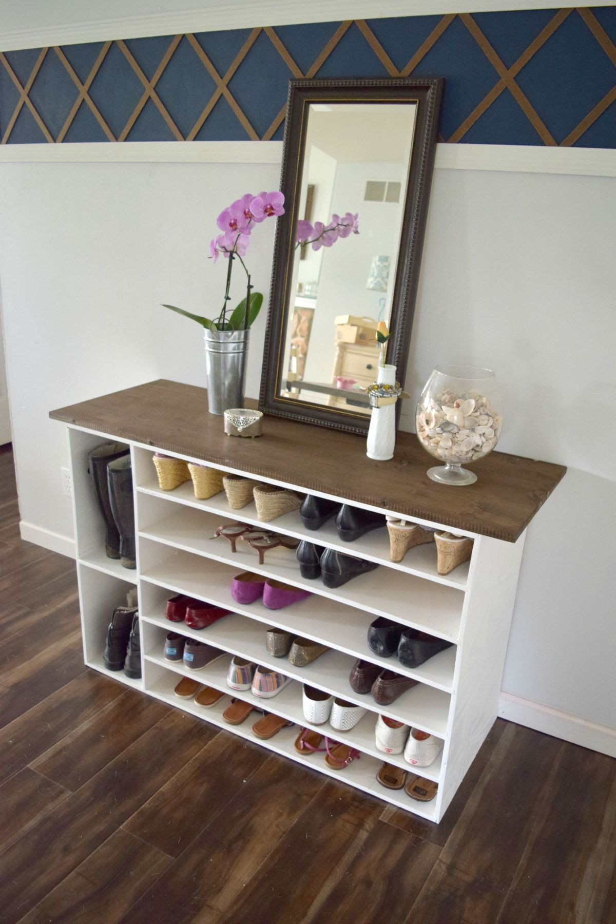 Best ideas about DIY Shoe Shelf . Save or Pin Stylish DIY Shoe Rack Perfect for Any Room Now.