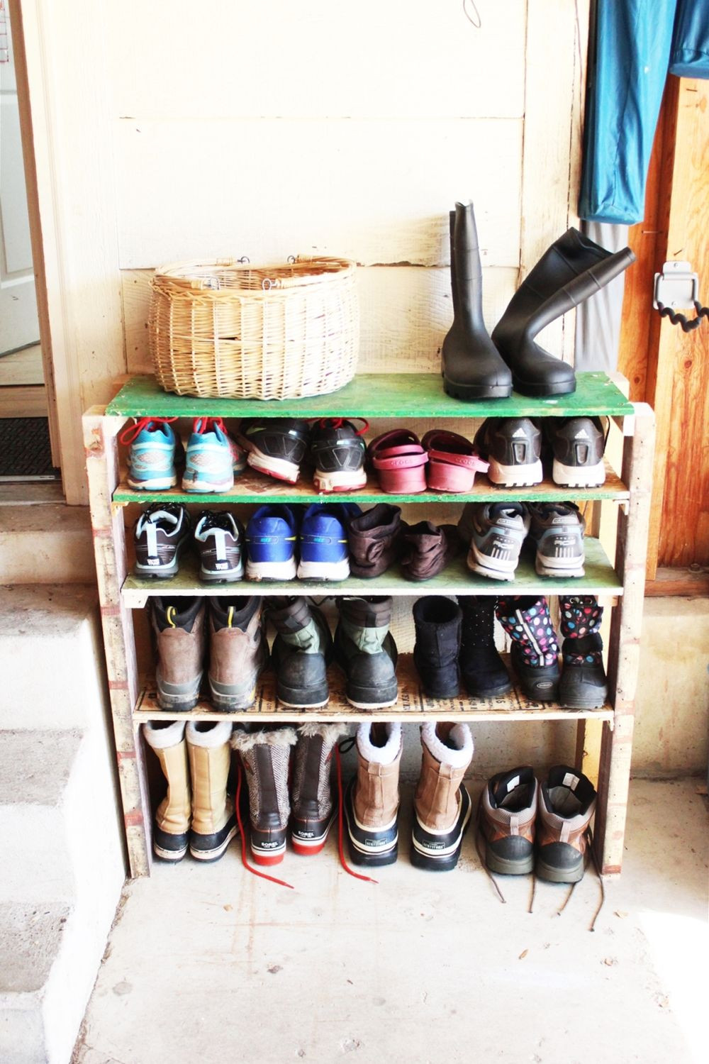 Best ideas about DIY Shoe Shelf . Save or Pin DIY Shoe Storage Shelves for Garage An Easy Fast and Now.