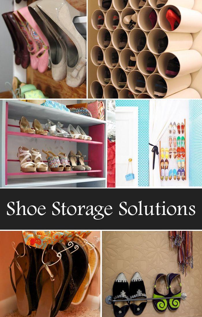 Best ideas about DIY Shoes Storage Ideas . Save or Pin 17 Best ideas about Shoe Storage Solutions on Pinterest Now.