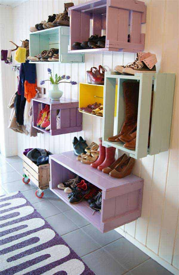 Best ideas about DIY Shoes Storage Ideas . Save or Pin 28 Clever DIY Shoes Storage Ideas That Will Save Your Time Now.