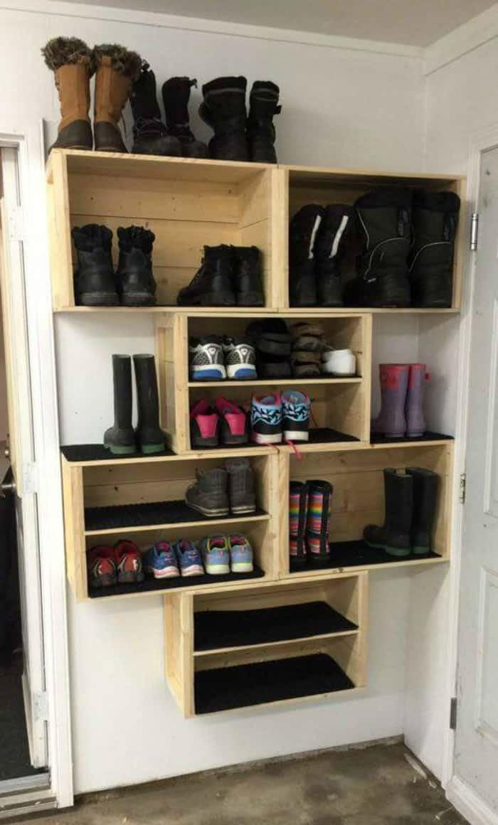 Best ideas about DIY Shoes Storage Ideas . Save or Pin 20 DIY SHOE STORAGE IDEAS Now.