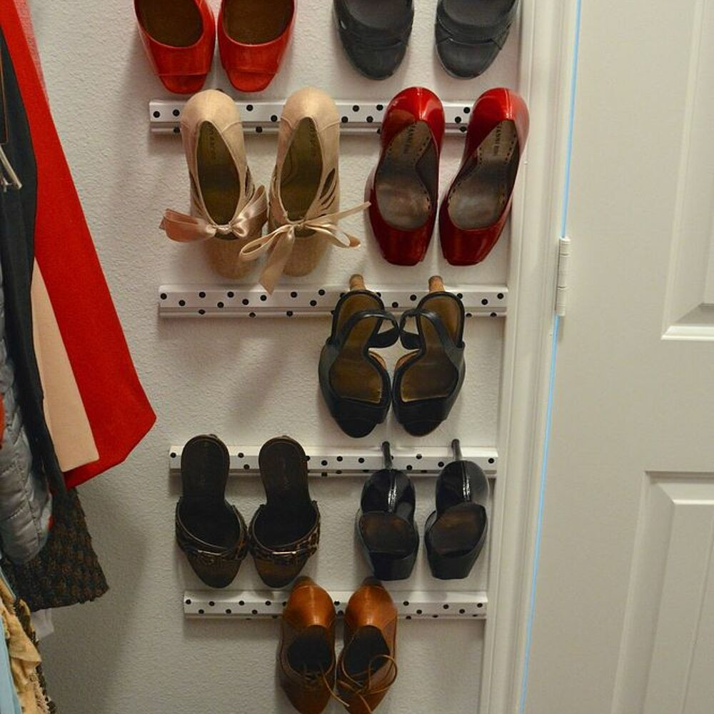 Best ideas about DIY Shoes Storage Ideas . Save or Pin High Heel Shoe Storage Now.