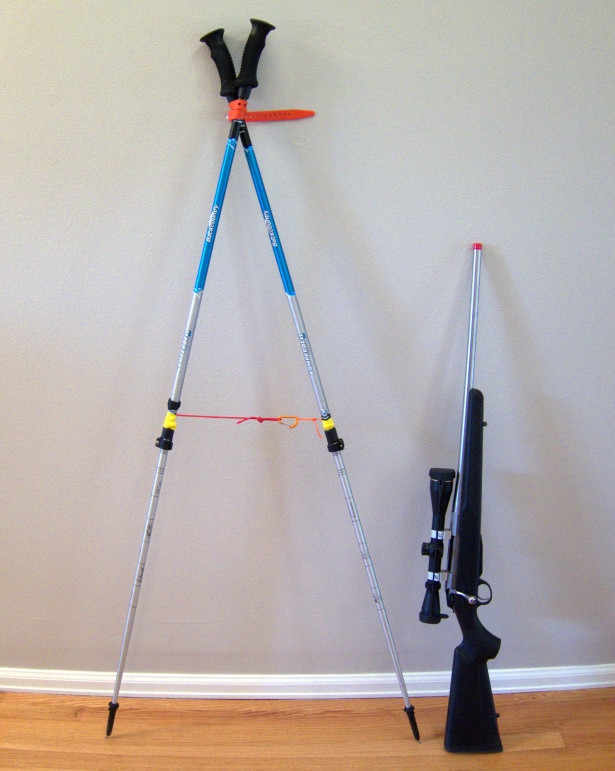 Best ideas about DIY Shooting Sticks . Save or Pin MYOG Bipod shooting sticks for hunting using trekking Now.