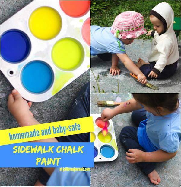 Best ideas about DIY Sidewalk Chalk Paint . Save or Pin Super Smart Ideas Now.