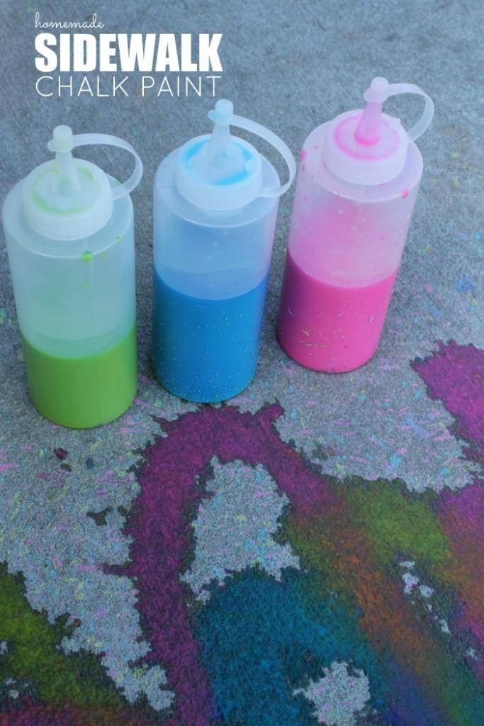 Best ideas about DIY Sidewalk Chalk Paint . Save or Pin Homemade Sidewalk Chalk Paint Recipe Now.