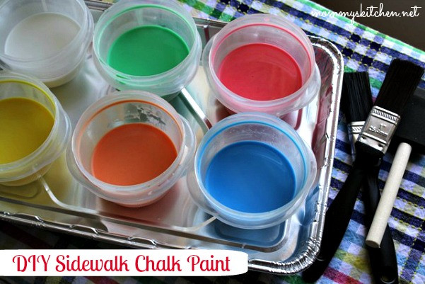 Best ideas about DIY Sidewalk Chalk Paint . Save or Pin Mommy s Kitchen Recipes From my Texas Kitchen DIY Now.
