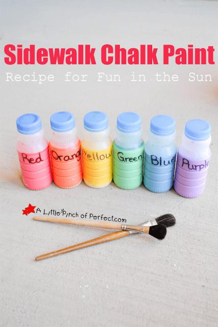 Best ideas about DIY Sidewalk Chalk Paint . Save or Pin DIY Sidewalk Chalk Paint The Finishing Touch Now.
