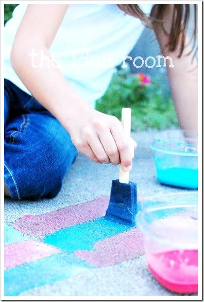 Best ideas about DIY Sidewalk Chalk Paint . Save or Pin Sidewalk Chalk Paint The Idea Room Now.