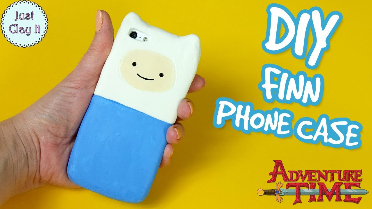 Best ideas about DIY Silicone Phone Case . Save or Pin DIY ♡ ADVENTURE TIME silicone phone case How to make FINN Now.