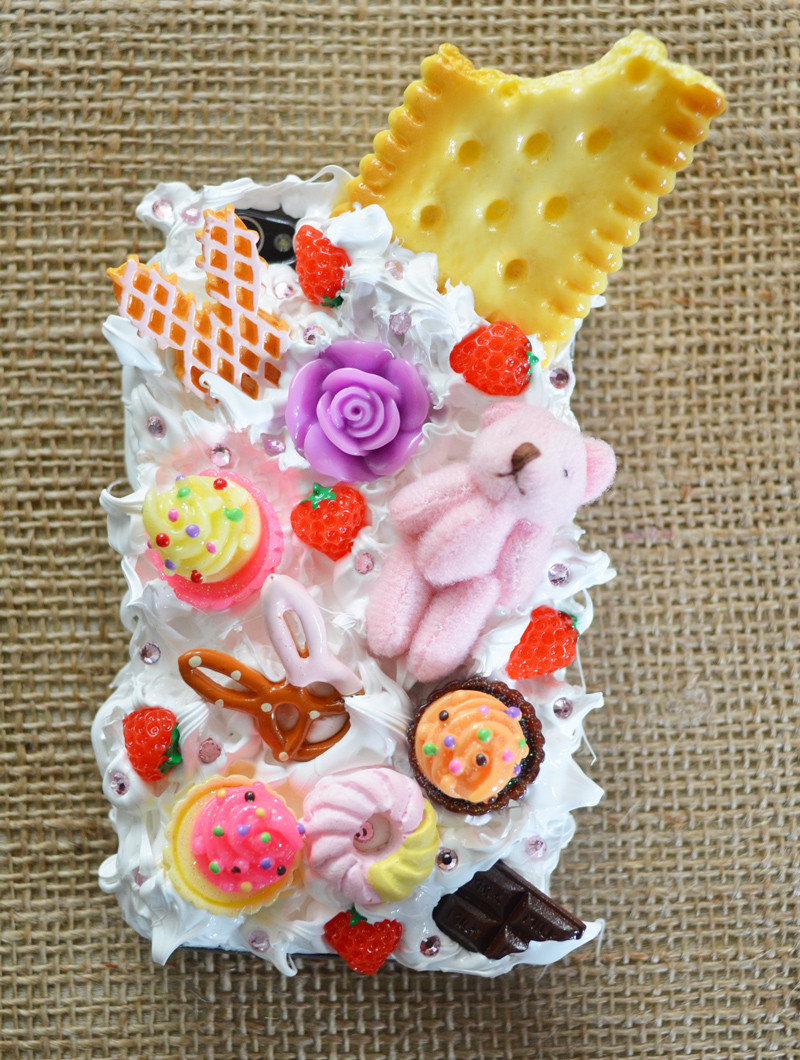 Best ideas about DIY Silicone Phone Case . Save or Pin Mr Kate DIY japanese decoden embellished phone cases Now.