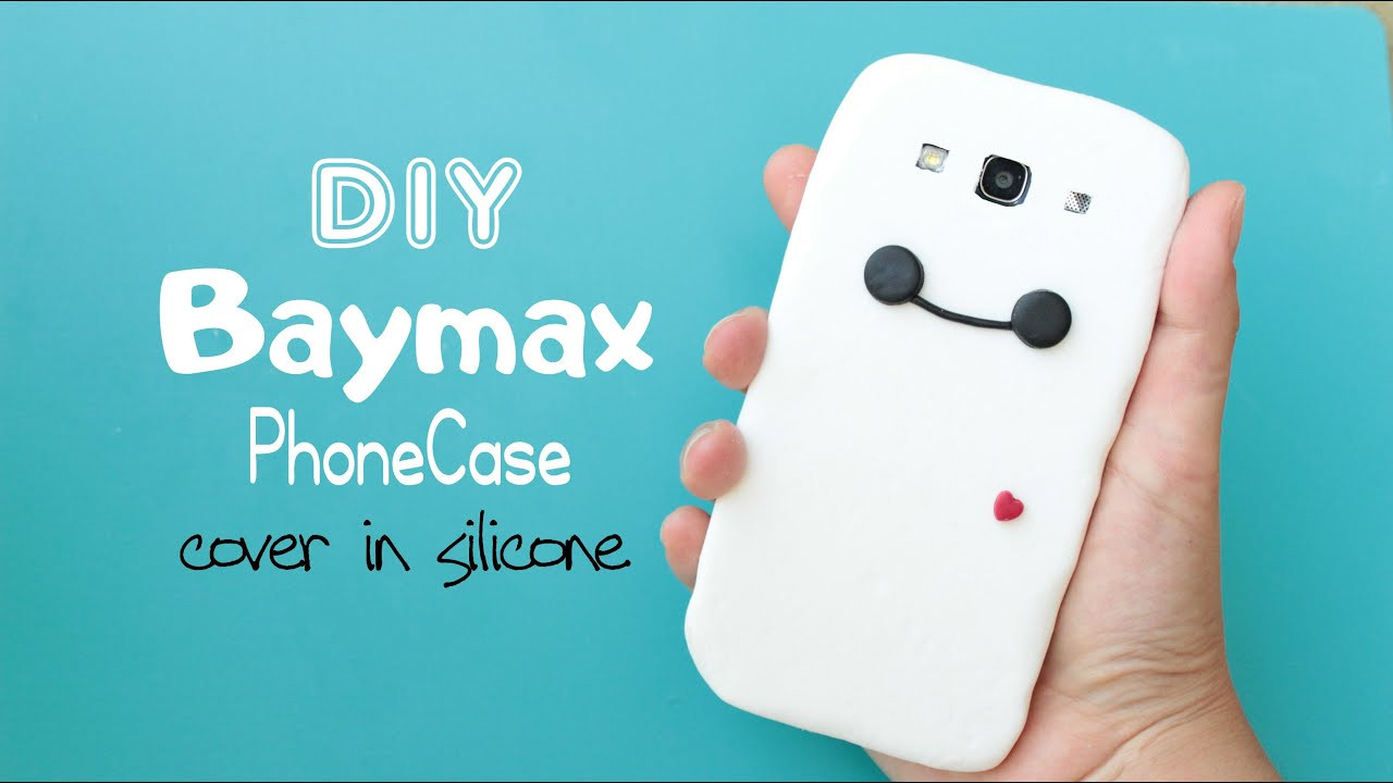Best ideas about DIY Silicone Phone Case . Save or Pin DIY Baymax Phone Case Cover in Silicone Now.
