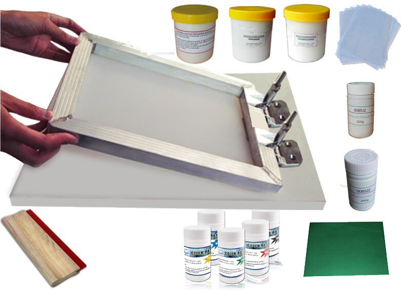 Best ideas about DIY Silk Screening Kit . Save or Pin Silk Screen Printing DIY Hobby Kit Screen Hinge Clamp Now.