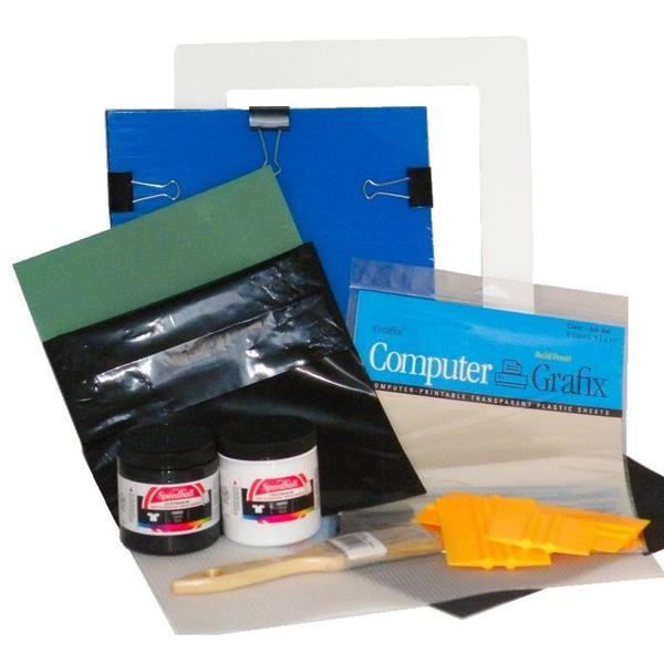 Best ideas about DIY Silk Screening Kit . Save or Pin DIY plete Custom T Shirt Silk Screen Printing Kit Home Now.