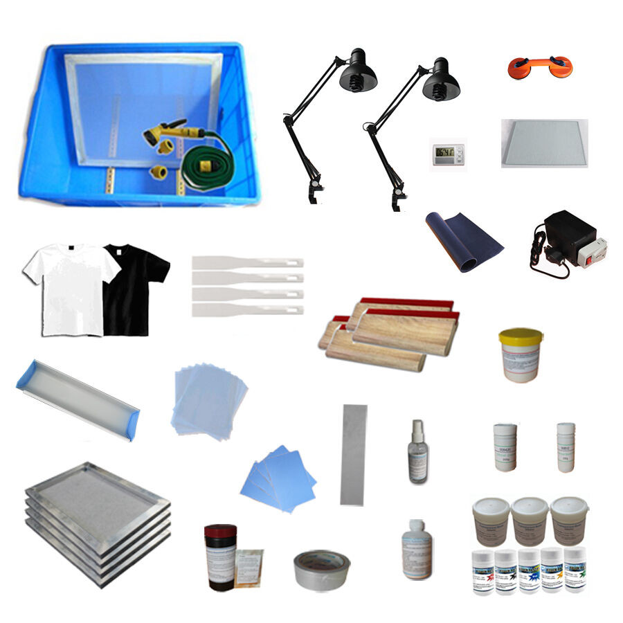 Best ideas about DIY Silk Screening Kit . Save or Pin New 4 Color Silk Screening Supply DIY Screen Printing Now.
