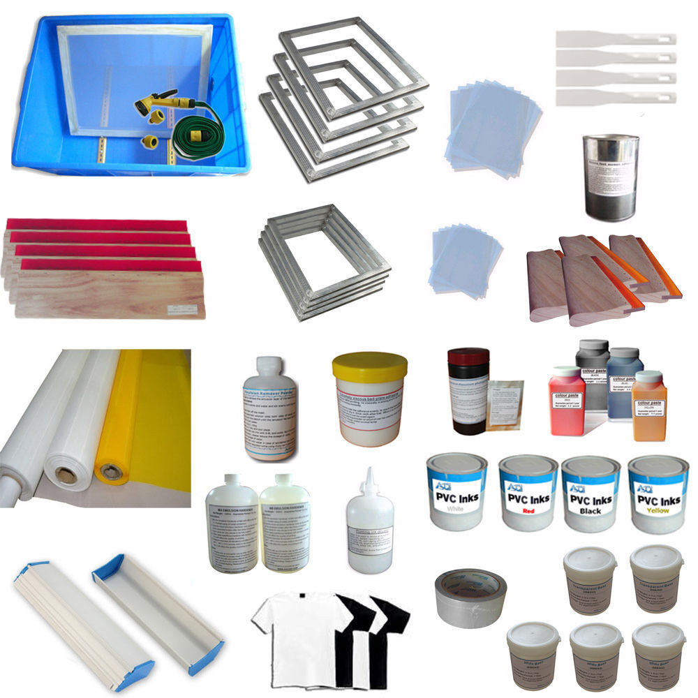 Best ideas about DIY Silk Screening Kit . Save or Pin Full Set Silk screen Printing 6 Color DIY Hobby Kit Simple Now.