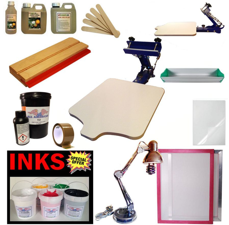 Best ideas about DIY Silk Screening Kit . Save or Pin 1 COLOUR SCREEN PRINTING KIT Now.