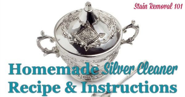 Best ideas about DIY Silver Polish . Save or Pin Homemade Silver Cleaner Recipe DIY Silver Dip Now.