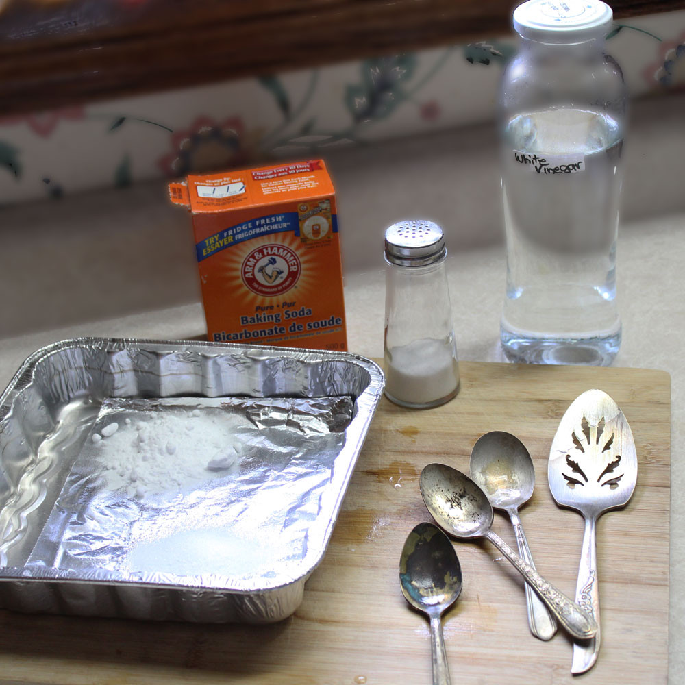Best ideas about DIY Silver Polish . Save or Pin Homemade Silver Cleaner • Urban Whisk Now.