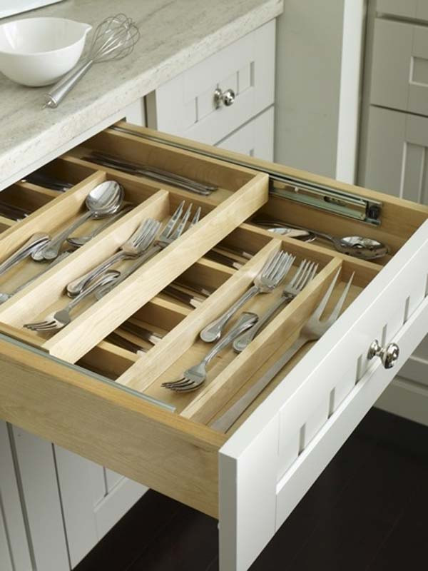 Best ideas about DIY Silverware Drawer Organizer . Save or Pin Top 27 Clever and Cute DIY Cutlery Storage Solutions Now.