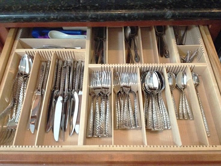 Best ideas about DIY Silverware Drawer Organizer . Save or Pin 10 best flatware drawer organizers wood images on Now.
