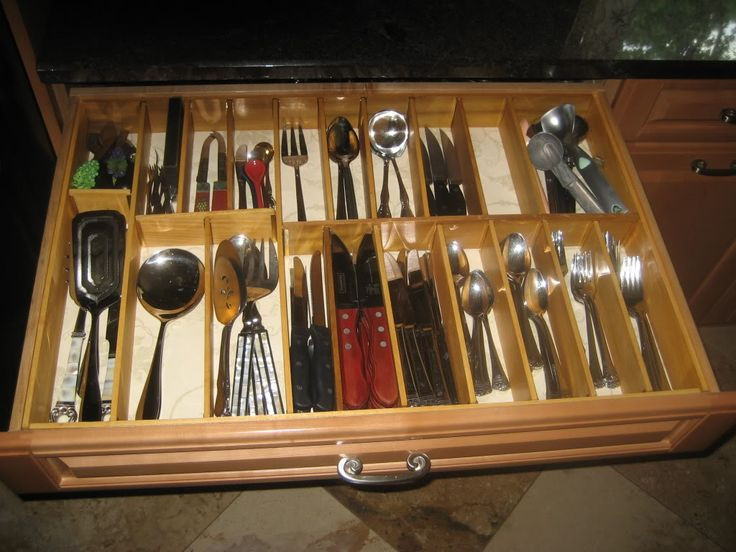 Best ideas about DIY Silverware Drawer Organizer . Save or Pin The 25 best Silverware drawer organizer ideas on Now.