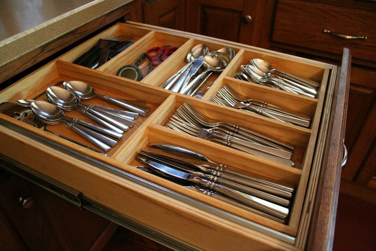 Best ideas about DIY Silverware Drawer Organizer . Save or Pin Best 25 Drawer dividers ideas on Pinterest Now.
