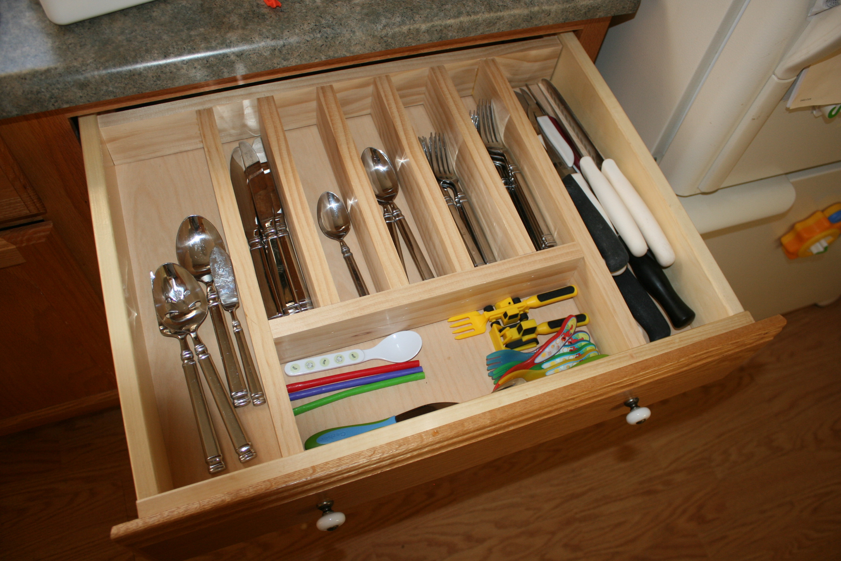 Best ideas about DIY Silverware Drawer Organizer . Save or Pin Ana White Now.