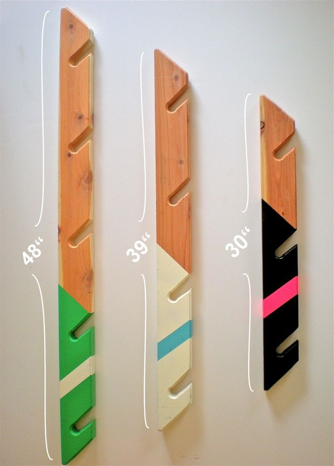 Best ideas about DIY Skateboard Wall Mount . Save or Pin Redwood wall mounted racks for snowboards skateboards Now.
