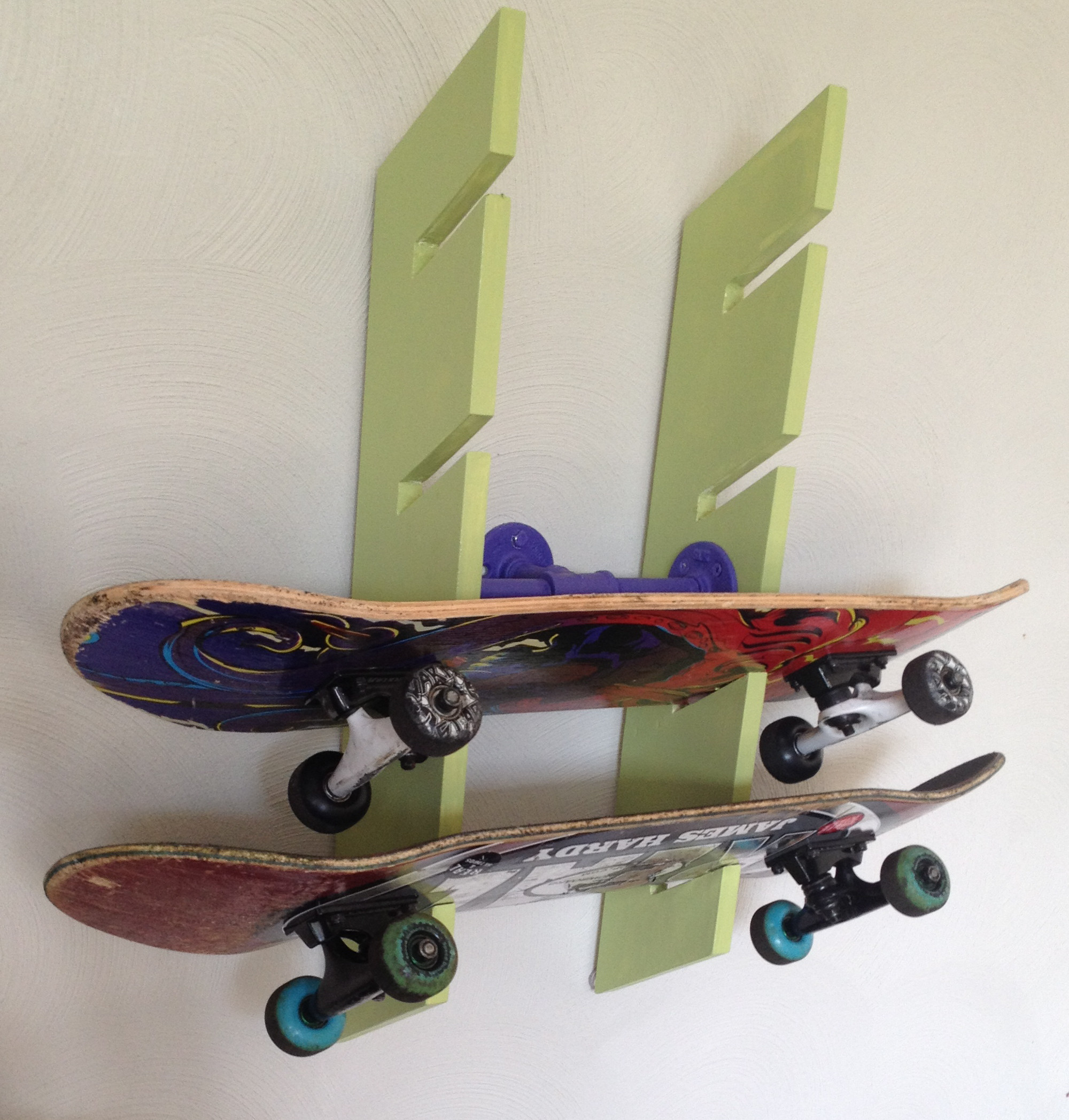 Best ideas about DIY Skateboard Wall Mount . Save or Pin Skateboard Rack Now.