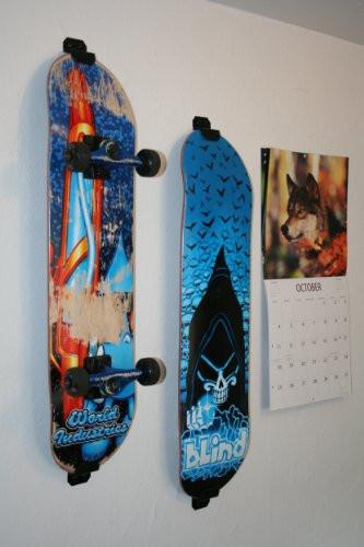 Best ideas about DIY Skateboard Wall Mount . Save or Pin Skateboard Wall Mount Display Rack Hanger Burton White Now.