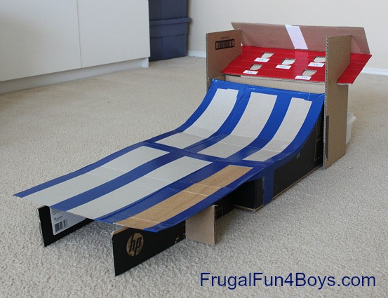 Best ideas about DIY Skee Ball . Save or Pin DIY Cardboard Box Skee Ball Game Frugal Fun For Boys and Now.