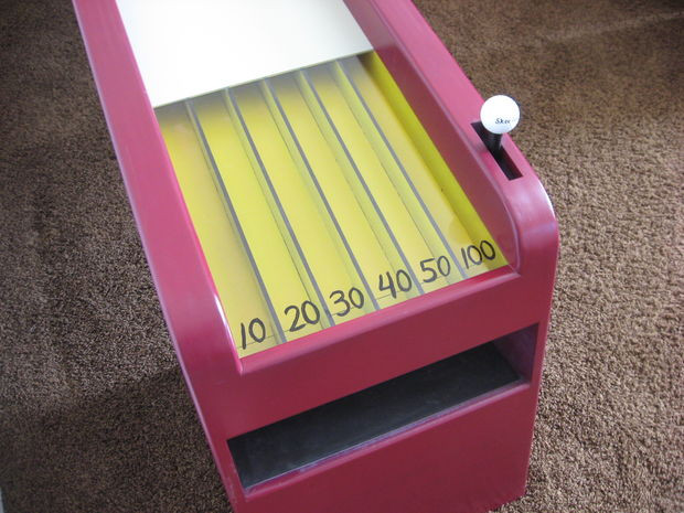 Best ideas about DIY Skee Ball . Save or Pin Homemade Skeeball Game Now.