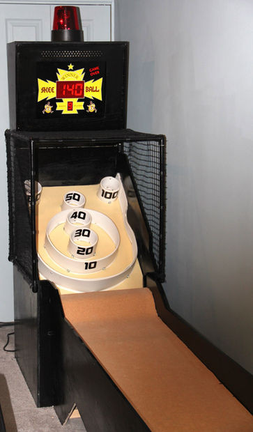 Best ideas about DIY Skee Ball . Save or Pin Mini Futuristic Skee Ball Phase 1 Now.