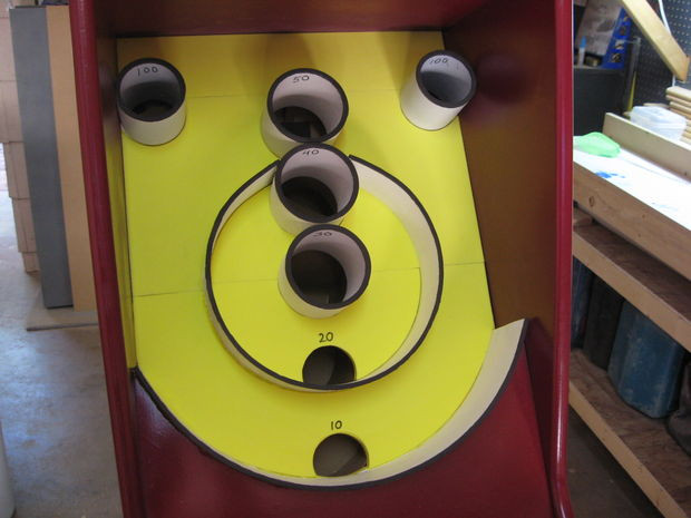 Best ideas about DIY Skee Ball . Save or Pin Homemade Skee Ball Game 18 Now.