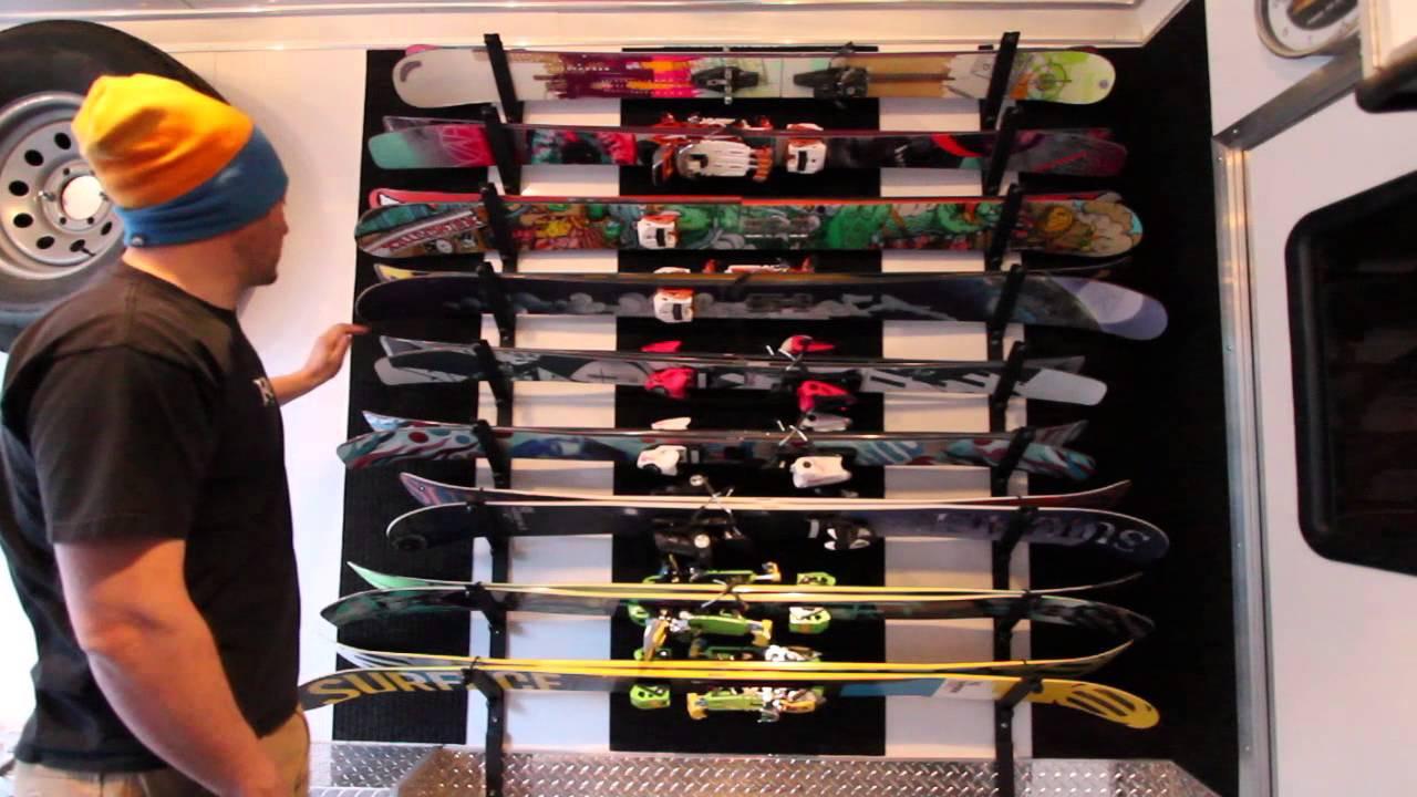 Best ideas about DIY Ski Rack . Save or Pin DIY Ski Rack by AdventureRig Now.