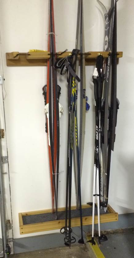 Best ideas about DIY Ski Rack . Save or Pin BWCA DIY Nordic Ski Rack Boundary Waters Private Group Now.