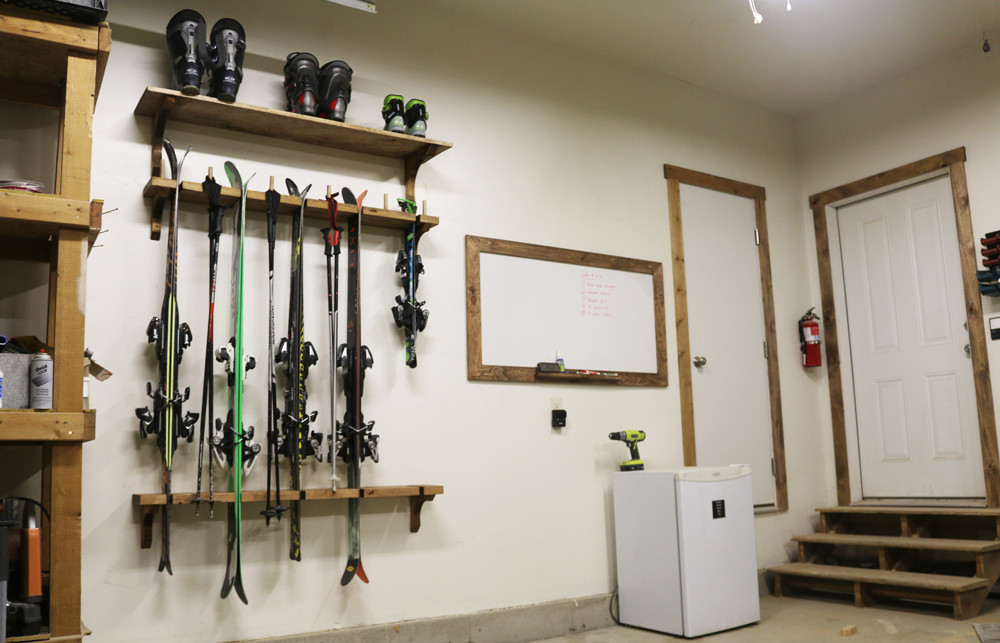 Best ideas about DIY Ski Rack . Save or Pin DIY Ski Rack Project with Free Plans Now.