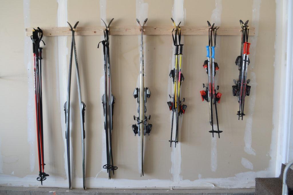 Best ideas about DIY Ski Rack . Save or Pin DIY Ski Storage Rack Now.