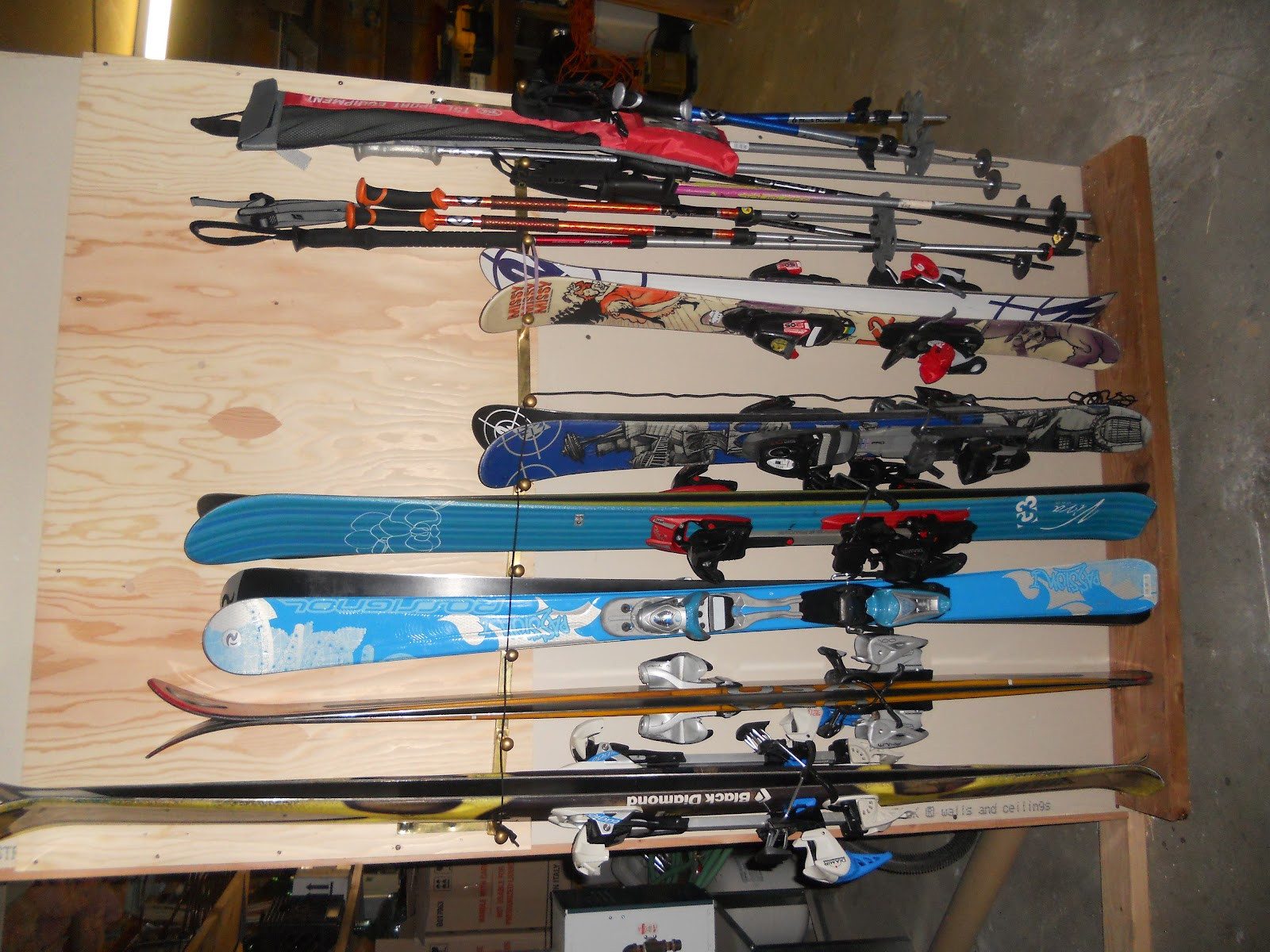 Best ideas about DIY Ski Rack . Save or Pin Daily Dose of Douglet POS DIY Ski Rack Now.