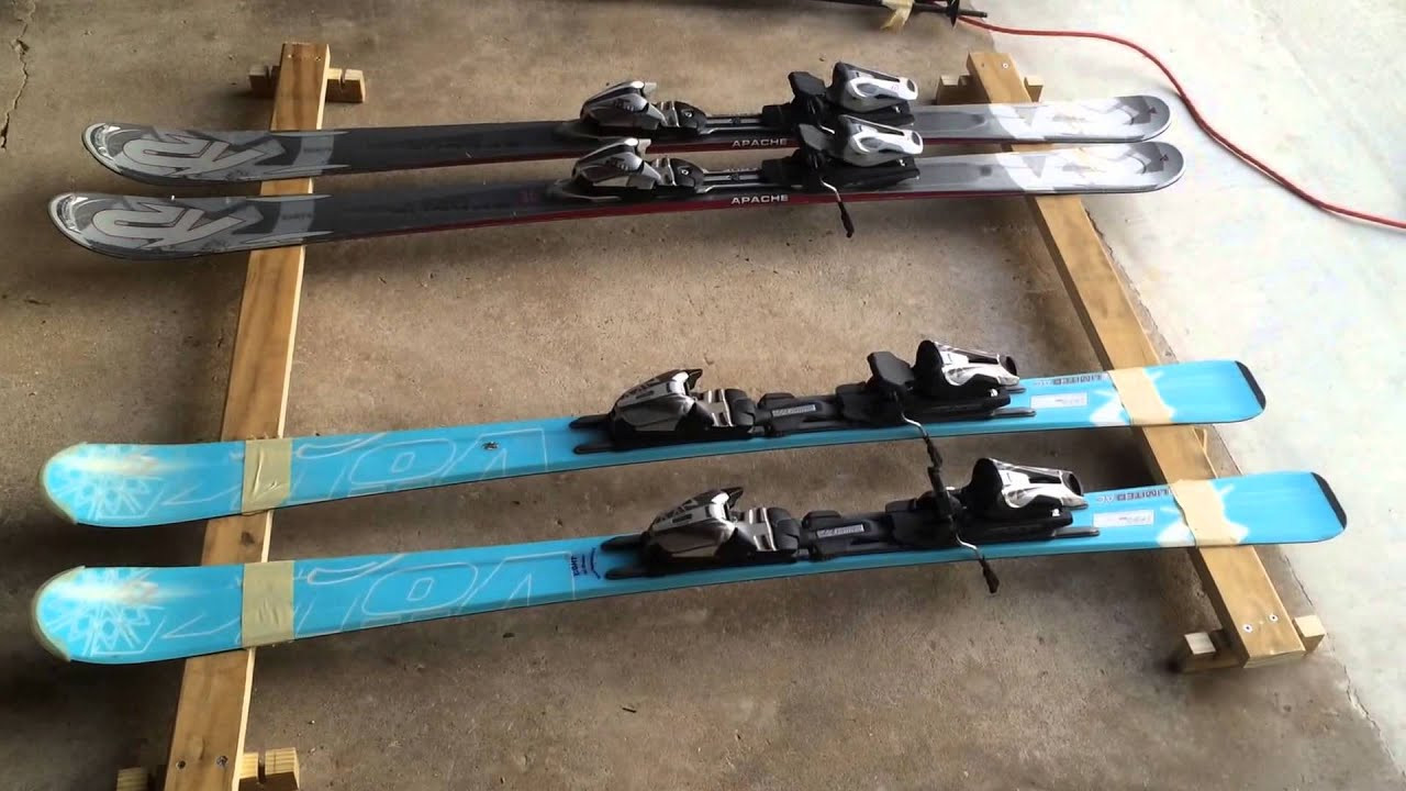 Best ideas about DIY Ski Rack . Save or Pin Homemade car roof ski rack from existing roof rails cheap Now.