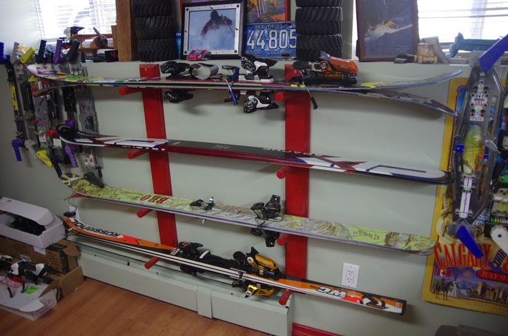 Best ideas about DIY Ski Rack . Save or Pin ski rack diy DIY Now.