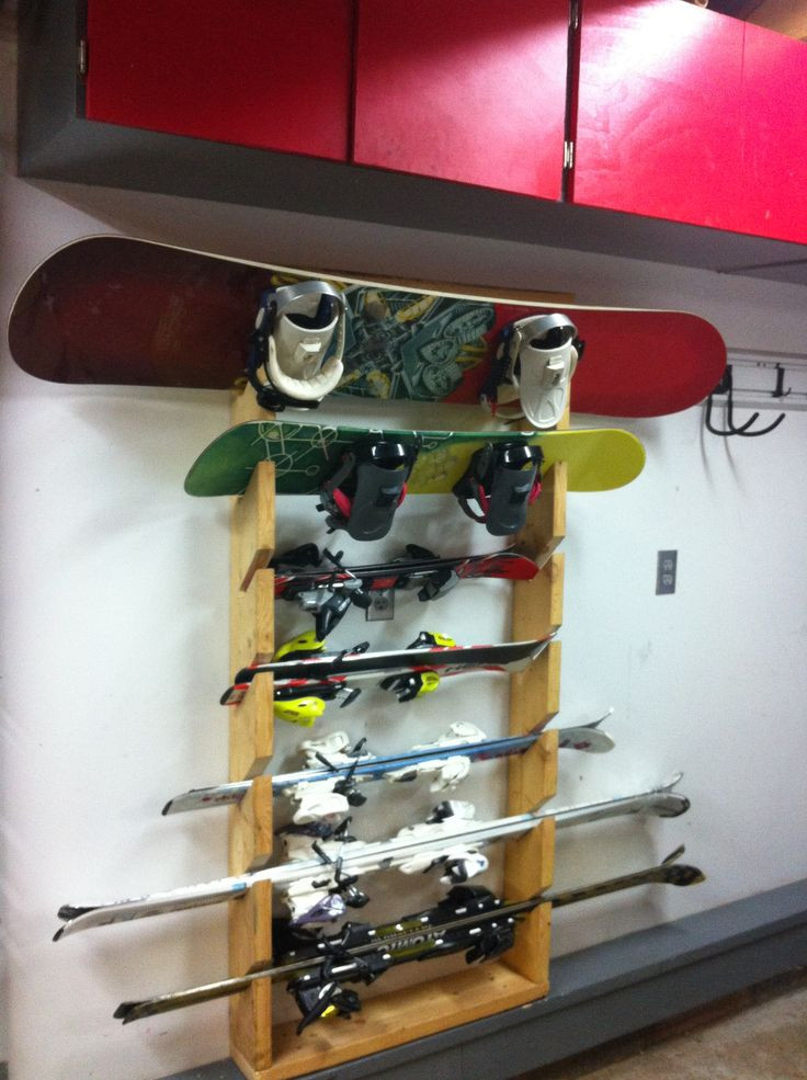 Best ideas about DIY Ski Rack . Save or Pin The Bens Tell a Diy ski rack for garage Now.